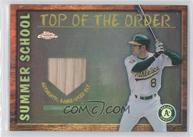 2002 Topps Chrome Summer School Top of the Order Refractor #TOC-JD - Johnny Damon