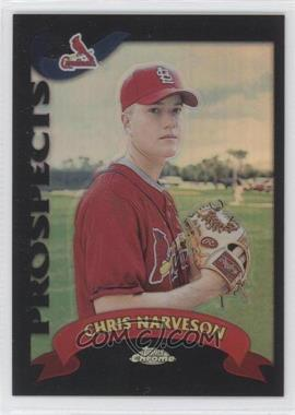 2002 Topps Chrome Traded & Rookies Black Refractor #T204 - Chris Narveson /100