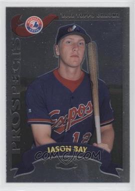 2002 Topps Chrome #326 - Jason Bay