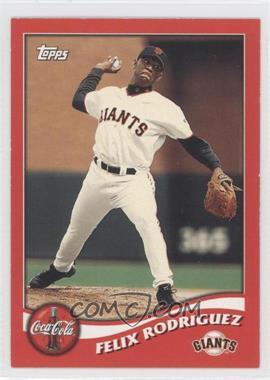 2002 Topps Coca-Cola San Francisco Giants - [Base] #8 - Felix Rodriguez