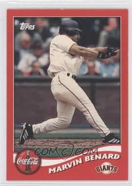 2002 Topps Coca-Cola San Francisco Giants #4 - Marvin Benard