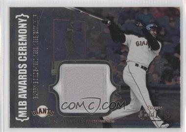 2002 Topps Gold Label [???] #ACR-BB1 - Barry Bonds