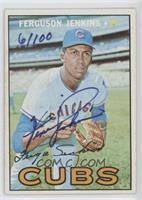 Fergie Jenkins (1967 Topps) /100 [Good to VG‑EX]