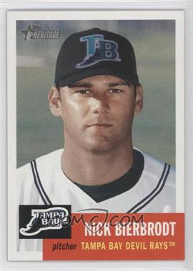 2002 Topps Heritage - [Base] #367 - Nick Bierbrodt