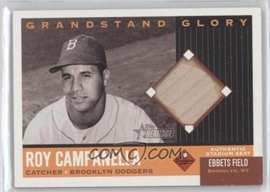 2002 Topps Heritage - Grandstand Glory #GG-RC - Roy Campanella