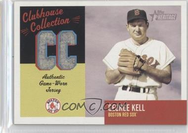 2002 Topps Heritage Clubhouse Collection Relics #CC-GK - George Kell
