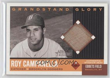 2002 Topps Heritage Grandstand Glory #GG-RC - Roy Campanella