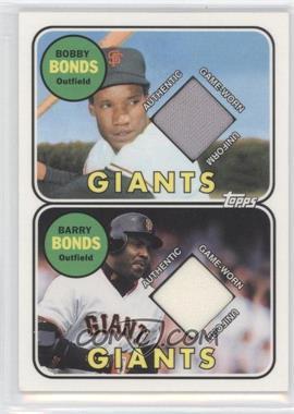 2002 Topps Like Father Like Son Relics #FS-BON - Barry Bonds, Bobby Bonds