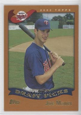 2002 Topps Limited Edition #622 - Joe Mauer