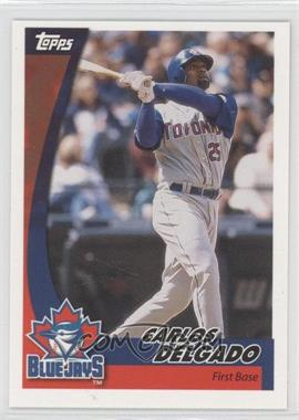 2002 Topps Post - [Base] #15 - Carlos Delgado