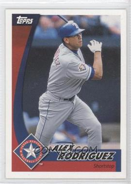 2002 Topps Post #1 - Alex Rodriguez