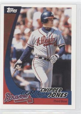 2002 Topps Post #12 - Chipper Jones