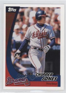 2002 Topps Post #12 - Chipper Jones