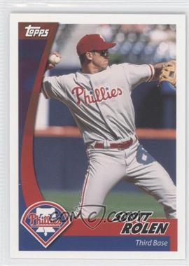 2002 Topps Post #14 - Scott Rolen