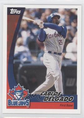2002 Topps Post #15 - Carlos Delgado