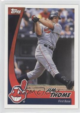 2002 Topps Post #17 - Jim Thome