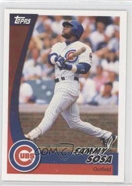 2002 Topps Post #7 - Sammy Sosa