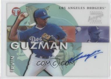 2002 Topps Pristine - Personal Endorsements Autographs #PE-IG - Irvin Guzman