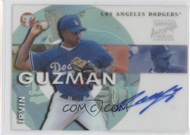 2002 Topps Pristine Personal Endorsements Autographs #PE-16 - Irvin Guzman