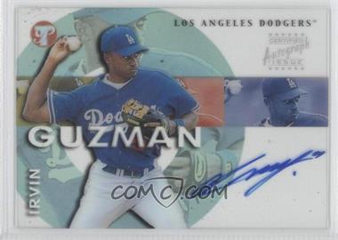2002 Topps Pristine Personal Endorsements Autographs #PE-IG - Irvin Guzman