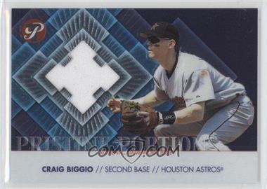2002 Topps Pristine Pristine Portions #PP-CB - Craig Biggio /1000