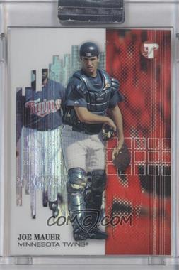 2002 Topps Pristine Refractor #152 - Joe Mays, Joe Mauer /799