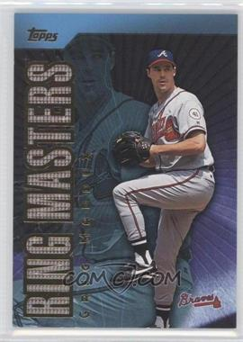2002 Topps Ring Masters #RM-8 - Greg Maddux