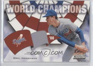 2002 Topps Stadium Club World Champions Relics #WC-OH - Orel Hershiser