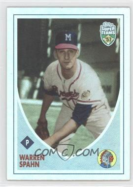 2002 Topps Super Teams [???] #39 - Warren Spahn /1957