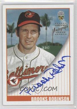 2002 Topps Super Teams Autographs #STA-BRO - Brooks Robinson