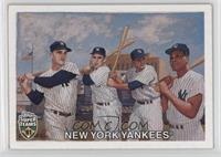 Yogi Berra, Roger Maris, Elston Howard, Moose Skowron