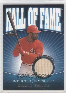 2002 Topps Traded - [???] #HOF-OS - Ozzie Smith