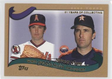 2002 Topps Traded - [Base] - Gold #T266 - Nolan Ryan /2002