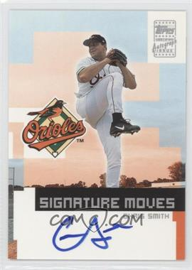 2002 Topps Traded - Signature Moves #TA-CS - Chris Smith