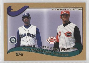 2002 Topps Traded Gold #T274 - Ken Griffey Jr. /2002