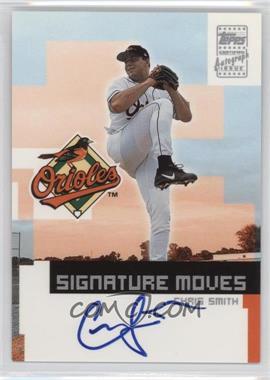 2002 Topps Traded Signature Moves #TA-CS - Chris Smith