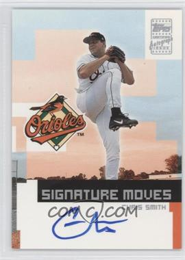 2002 Topps Traded Signature Moves #TA-CS - Chris Smith