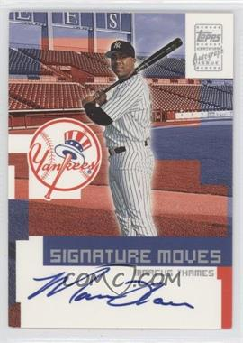 2002 Topps Traded Signature Moves #TA-MT - Marcus Thames