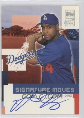 2002 Topps Traded Signature Moves #TA-VD - Victor Diaz