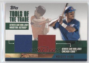 2002 Topps Traded Tools of the Trade Dual Relics #DTRR-MA - Moises Alou