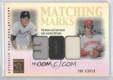 2002 Topps Tribute [???] #MM-NS - Phil Niekro, Tom Seaver