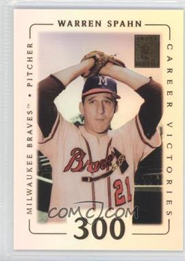 2002 Topps Tribute #63 - Warren Spahn