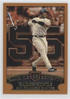 Barry Bonds (Race to Seventy Home Run #55)