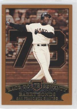 2002 Topps #365.73 - Barry Bonds (Race to Seventy Home Run #73)