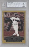 Barry Bonds Race to Seventy Home Run #73 [BGS 8]