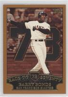 Barry Bonds Race to Seventy Home Run #73