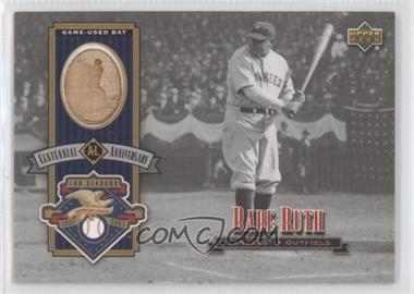 2002 Upper Deck - AL Centennial Bats #ALB-BR - Babe Ruth