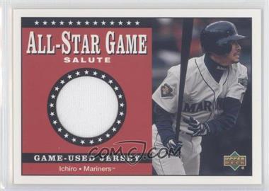 2002 Upper Deck - All-Star Game Salute Jerseys #SJ-IS - Ichiro Suzuki