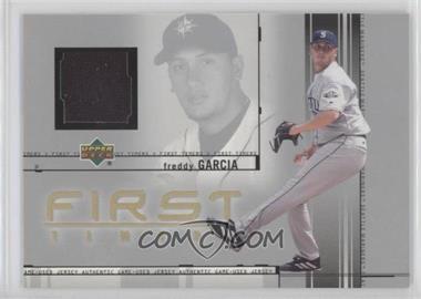 2002 Upper Deck - First Timers Jerseys #FT-FG - Freddy Garcia
