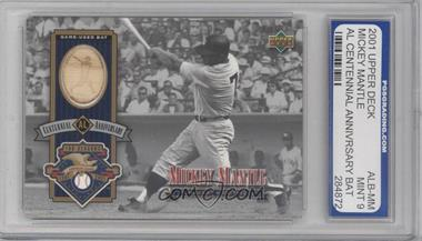 2002 Upper Deck [???] #ALJ-MM - Mickey Mantle [ENCASED]